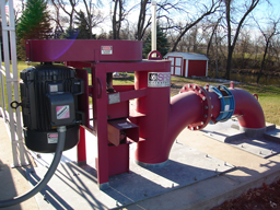 Crisafulli Vertical Pump installed at customer site