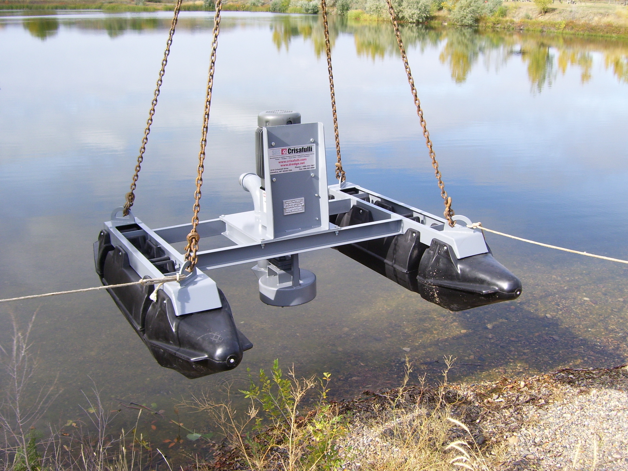 Floating Pumps Are Offered In A Wide Range Of Dimensions