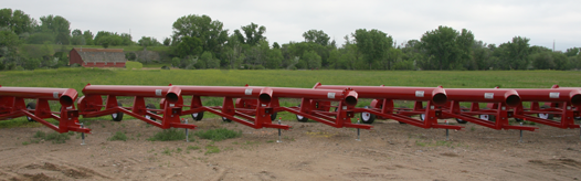 Trailer pumps, flows to 18,000 GPM, TDH to 50 feet, PTO or self powered.