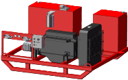 Diesel-Hydraulic Power Unit-Skid Mounted