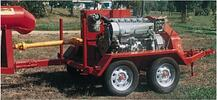 Portable Power Unit on 4 wheel trailer