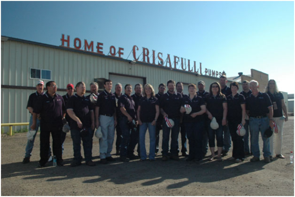 SRS Crisafulli Factory Employees
