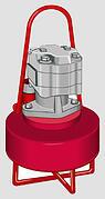 submersible hydraulic pump