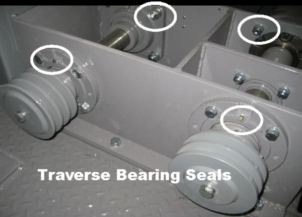 Traverse Bearings Seals