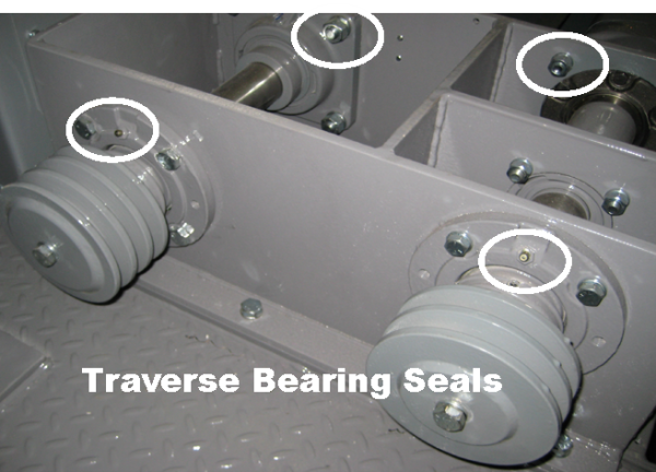 Traverse Bearings Seals