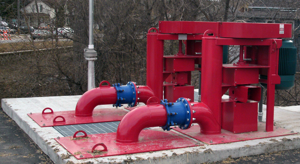 Vertical Pumps flows to 18,000 GPM, TDHs to 280 feet, solids passing to 5.5 inches