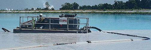 Rotomite 142 and Floating Discharge Line