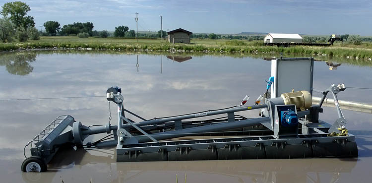 FLUMP Dredge, Automated, Remote Control