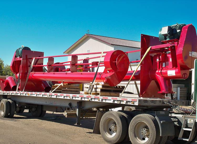 Vertical Pump, shipping, trailer, storm water