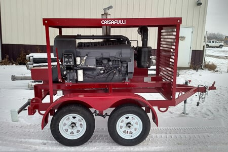 Diesel Trailer Mounted PTO unit