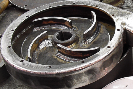 J series volute and impeller