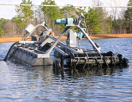 Remote Controlled Automated Flump Dredges