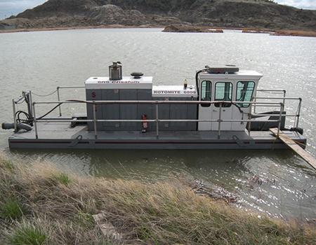 Rotomite 6000 docked